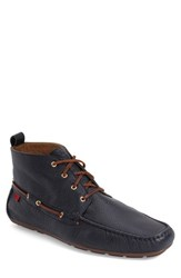 Men's Marc Joseph New York 'Soho' Boot Navy Leather