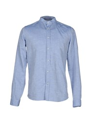 Guy Rover Shirts Shirts Men Sky Blue