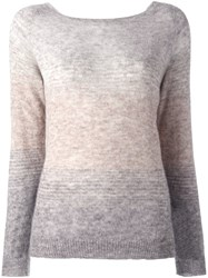Stefano Mortari Gradient Jumper Grey