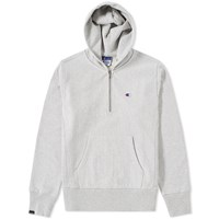 Champion X Beams Half Zip Hoody Grey