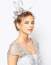 Coast Pearl Bead Fascinator Silver