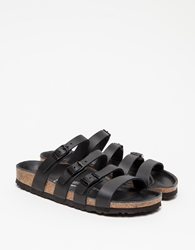 Birkenstock Delmas Black Leather