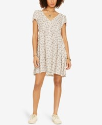Denim And Supply Ralph Lauren Floral Button Front Dress White Floral Multi
