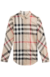Burberry Stretch Cotton Shirt
