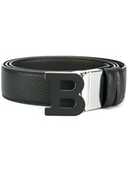 Bally 'B' Letter Belt Black