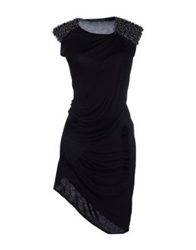 Aminaka Wilmont Short Dresses Black