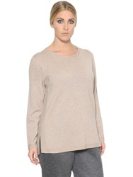 Marina Rinaldi Wool And Cashmere Blend Sweater