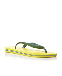 Havaianas Flat Sandals Yellow