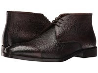 Kenneth Cole Pea Coat Espresso Men's Lace Up Boots Brown