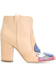 Laurence Dacade 'Pete' Boots Nude And Neutrals