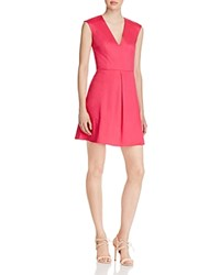French Connection Richie Capri Dress Passion Pink
