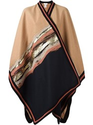 Antonia Zander 'Laurelle' Cape Nude And Neutrals