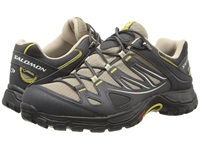 Salomon Ellipse Gtx Thyme Asphalt Dark S Green Women's Shoes Gray