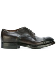 Silvano Sassetti Classic Lace Up Shoes Brown