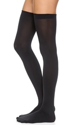 Wolford Fatal 80 Seamless Stay Up Tights Black