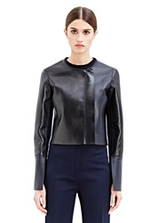 New Season Calvin Klein Collection Womens Cepin Leather Jacket
