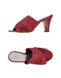 Pantofola D'oro Sandals Red