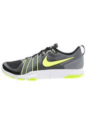 Nike Performance Flex Train Aver Sports Shoes Cool Grey Volt Black White