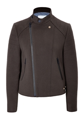 Zadig And Voltaire Wool Blend Moto Jacket