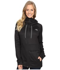 The North Face Shelly Hoodie Tnf Black Heather Women's Sweatshirt Gray
