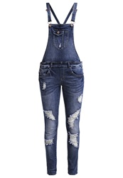 Only Onlnew Kim Witty Dungarees Dark Blue