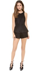 Finders Keepers Stranger In Paradise Romper Black