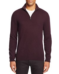 Bloomingdale's The Men's Store At Cashmere Mockneck Sweater Raisin
