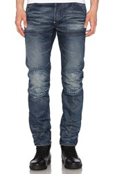 G Star Raw For The Oceans Collection Occotis 5620 3D Slim Dark Aged