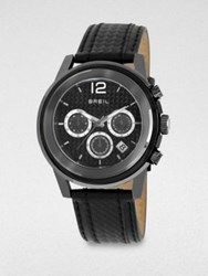Breil Milano Sporty Chronograph Watch Black