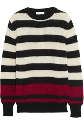 Iro Jaylen Striped Knitted Sweater Black
