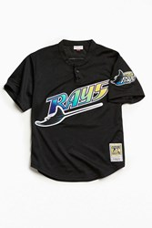 Mitchell And Ness Tampa Bay Devil Rays Jersey Black