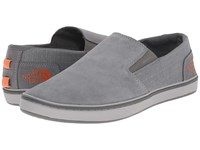 The North Face Base Camp Lite Slip On Sedona Sage Grey Orange Rust Men's Shoes Gray
