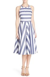 Women's Eliza J Cotton Fit And Flare Dress