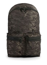 Topman Black And Grey Camo Backpack Multi