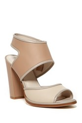 Kenneth Cole Stacy Ankle Strap Pump Beige