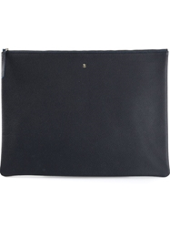 Arts And Science Flat Envelope Clutch Blue