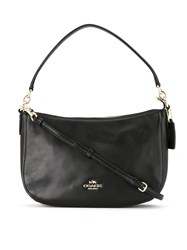 Coach 37018 Liblk Leather Fur Exotic Skins Calf Leather Black