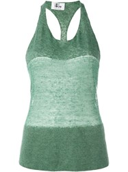 Lost And Found Ria Dunn Thin Tank Top Green