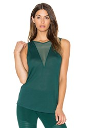 Alo Yoga Warm Up Tank Green