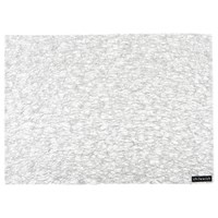 Chilewich Metallic Lace Rectangle Placemat Silver
