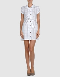 Supreme Being Short Dresses White