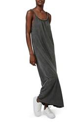 Petite Women's Topshop Braided Strap Maxi Dress
