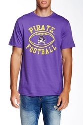 Original Retro Brand East Carolina University Garrard 9 Tee Purple