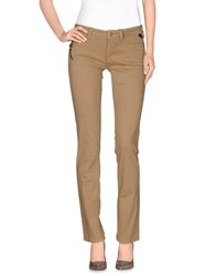 Replay Trousers Casual Trousers Women Sand