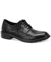 Born Born Bainbridge Wing Tip Oxfords Men's Shoes Black