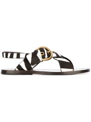 Marc Jacobs 'Patti' Sandals Black