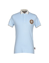 Atelier Fixdesign Polo Shirts Sky Blue