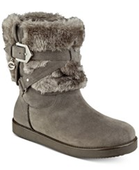 G By Guess Alixa Cold Weather Booties Women's Shoes Slate