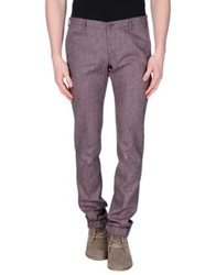Germano Casual Pants Purple