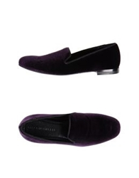 Giacomorelli Moccasins Purple
